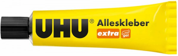 UHU extra All Purpose Adhesive gelified and clean, Tube 31g