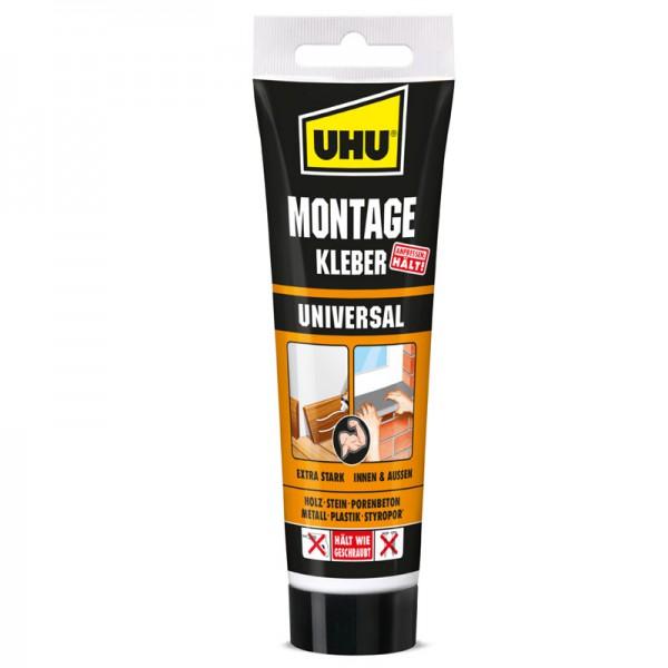 UHU MONTAGEKLEBER UNIVERSAL, Tube 200g