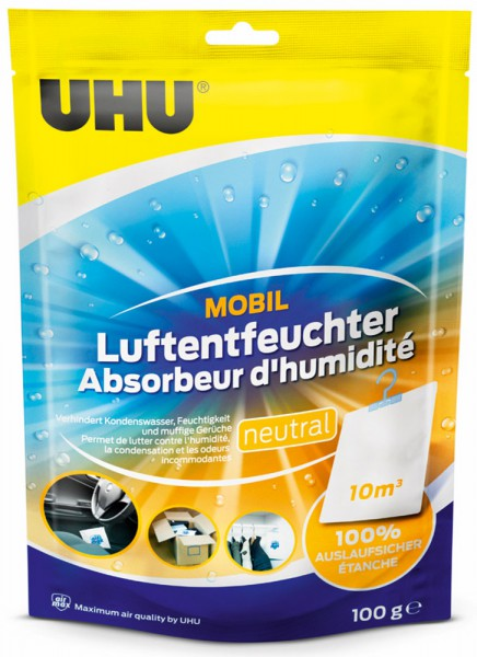 UHU Air Max Luftentfeuchter mobil 100g