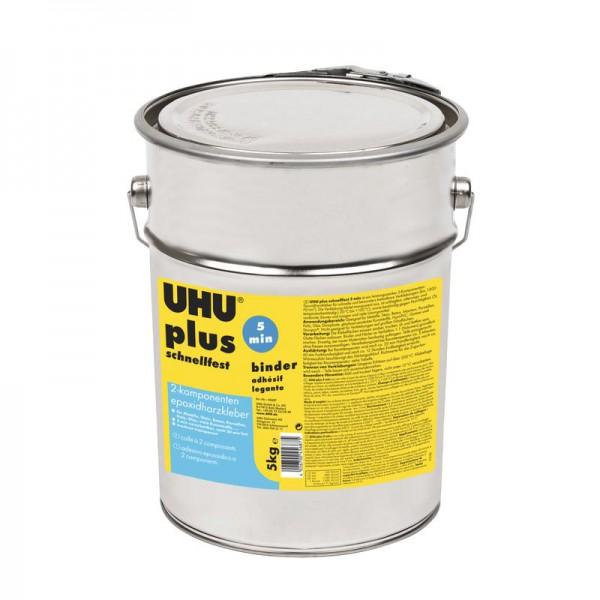 UHU PLUS EPOXY Quick Set adhesive, Can Binder 5kg