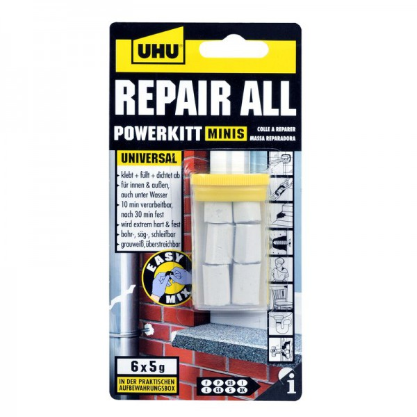 UHU REPAIR ALL POWERKITT Minis 6x5g