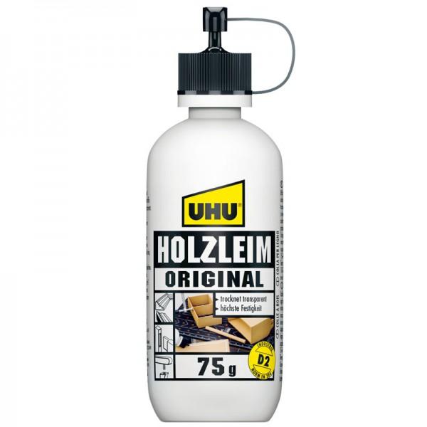 UHU WOOD GLUE ORIGINAL EN 204 (D2), solvent free, bottle 75g