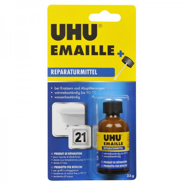 UHU enamel repair paste, bottle 23g