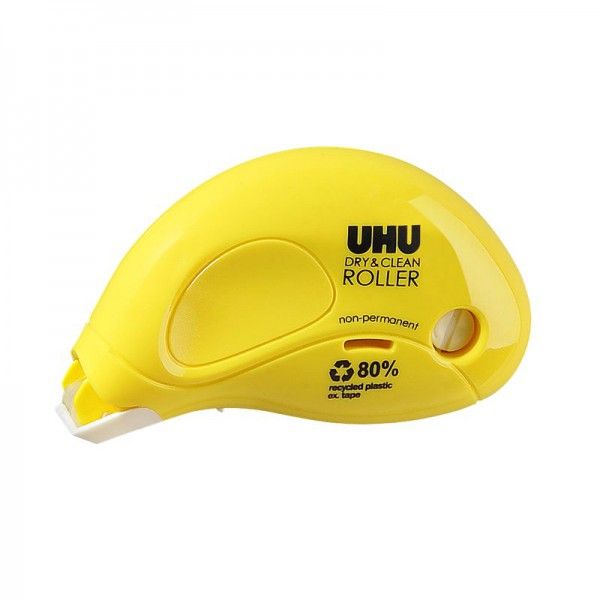 UHU DRY&CLEAN ROLLER glue roller non-permanent