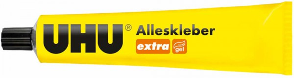 UHU extra All Purpose Adhesive gelified and clean, Tube 125g