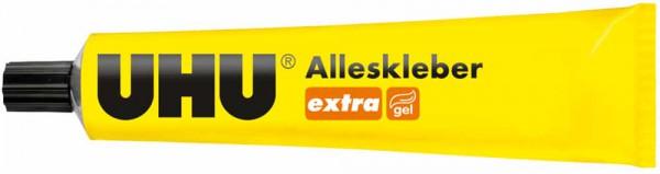 UHU extra ALLESKLEBER tropffrei + sauber, Tube 125g