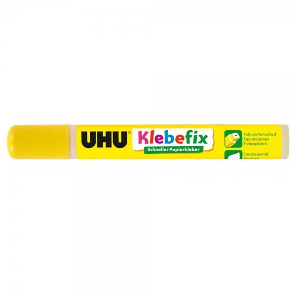 UHU klebefix paper glue solvent free, Glue pen 25g