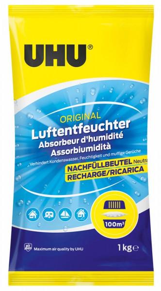 UHU Air Max Luftentfeuchter Nachfüllbeutel 1000g