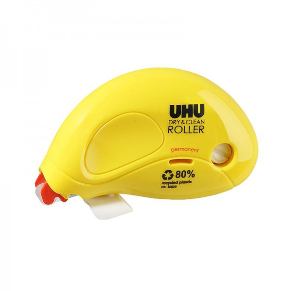 UHU DRY&CLEAN ROLLER glue roller, permanent